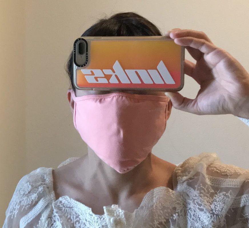 Casetify(ケースティファイ)のマスクの着用感1
