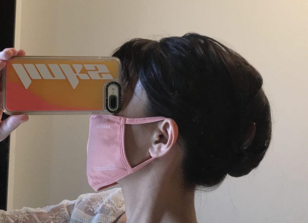 Casetify(ケースティファイ)のマスクの着用感2