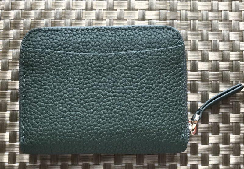 MAISON DE SABRE(メゾンドサブレ)のジップウォレットのサイドポケット