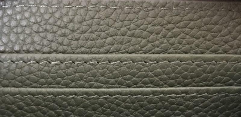 MAISON DE SABRE(メゾンドサブレ)のジップウォレットの縫製