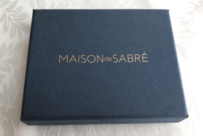 MAISON DE SABRE(メゾンドサブレ)の外箱