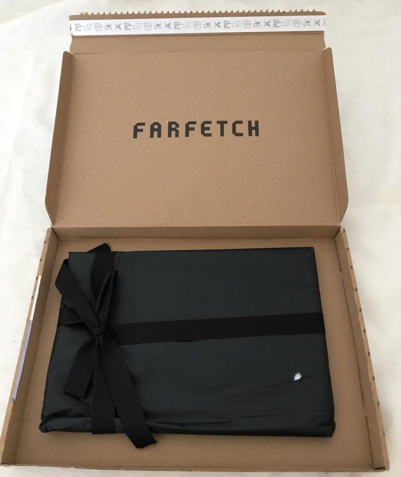 farfetch(ファーフェッチ)で購入したMaison Margiela(メゾンマルジェラ)の包装