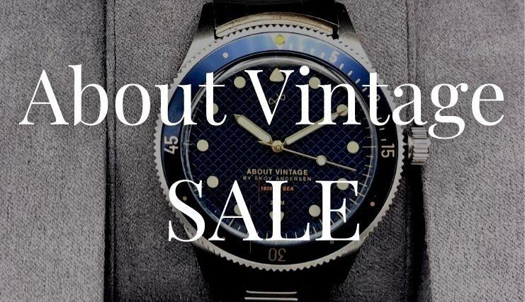 About Vintage(アバウトヴィンテージ)のセールはいつから?セールの時期や種類を解説!
