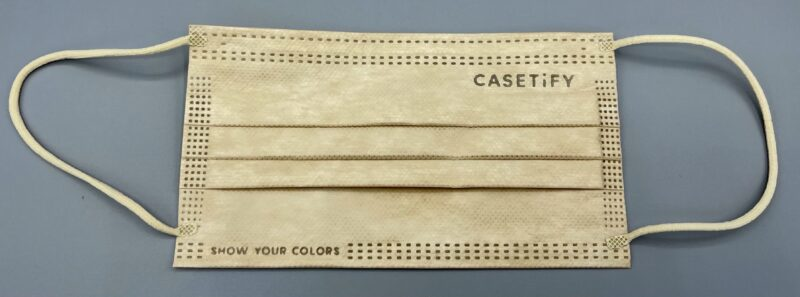 Casetify(ケースティファイ)の3層構造プロテクションマスク