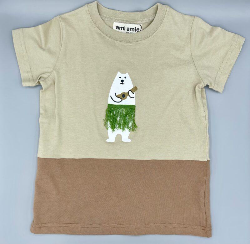 ami amie(アミアミ)の白くまTシャツ