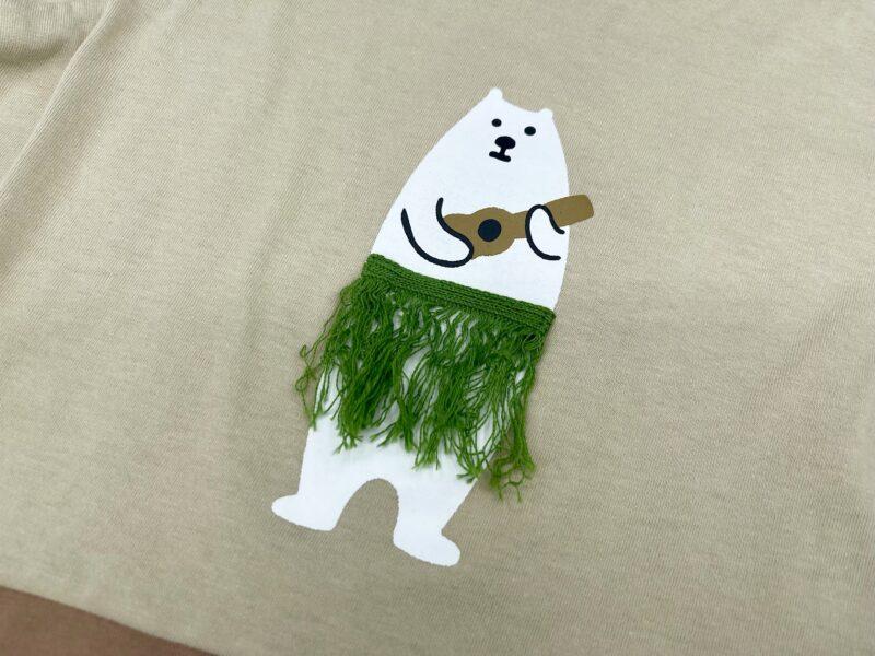 ami amie(アミアミ)の白くまTシャツ2
