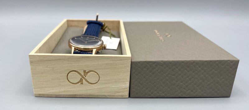 August Berg(オーガストバーグ)の腕時計の箱の刻印
